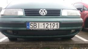 Zimní clona přední masky pro VW SHARAN I dolná