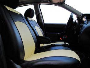 Autopotahy na míru Koža FIAT 500