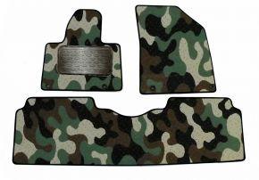 Maskačové textilní koberce pre Citroen C 5   2008-up  3 ks