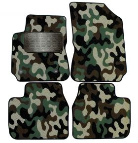 Maskačové textilní koberce pre Citroen C4 Cactus 2013-up  4ks