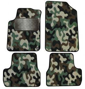 Maskačové textilní koberce pre Citroen DS3 2009-2015  4ks