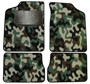 Maskačové textilní koberce pre Citroen AX 1991-1996  4ks