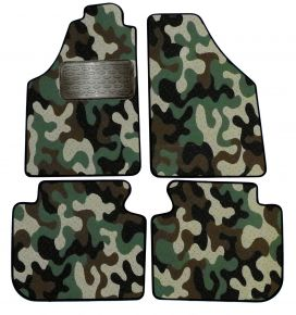 Maskačové textilní koberce pre Fiat Idea 2005-up 4ks