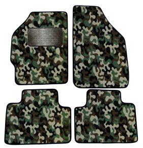Maskačové textilní koberce pre Fiat Punto II 1999-2005 4ks