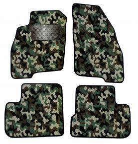 Maskačové textilní koberce pre Fiat Punto Grande 2005-up 4ks