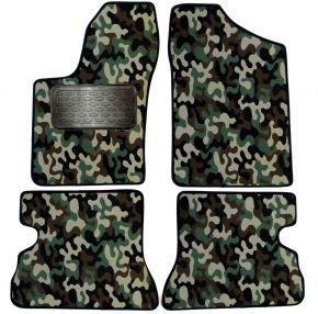 Maskačové textilní koberce pre Fiat Seicento 4ks 1998-2009