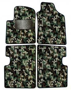 Maskačové textilní koberce pre Fiat 500 2007-2012 4ks