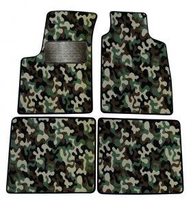 Maskačové textilní koberce pre Fiat Panda 2003-2012 4ks