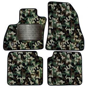 Maskačové textilní koberce pre Fiat 500L 2012-up 4 ks