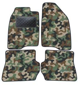 Maskačové textilní koberce pre Ford Fusion 2002-2009 4ks
