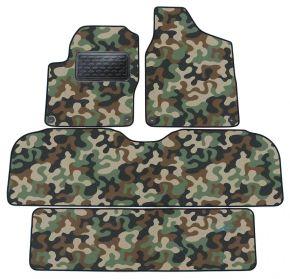 Maskačové textilní koberce pre Ford Galaxy / ALHAMBRA/ SHARAN  7miest 95