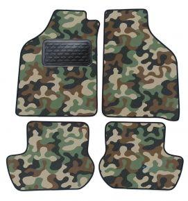 Maskačové textilní koberce pre Ford Ka 1997-2008 4ks