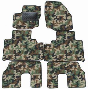 Maskačové textilní koberce pre Ford S-MAX  5 miiest  2007-2010