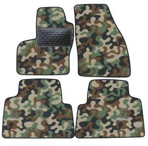 Maskačové textilní koberce pre Ford Kuga 2008-2012 4ks