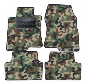 Maskačové textilní koberce pre Honda Accord 2008-up 4ks