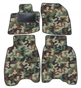 Maskačové textilní koberce pre Honda Civic 3D/ 5D  2007-2012 4ks