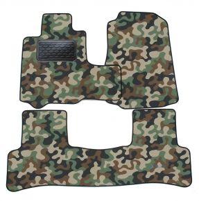Maskačové textilní koberce pre Honda CRV  2006-2012  4 ks