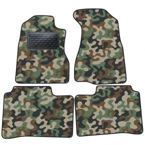 Maskačové textilní koberce pre Honda CRV  2001-2005  4ks