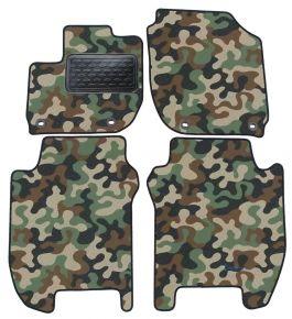 Maskačové textilní koberce pre Honda Jazz 2015-up 4ks