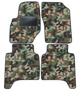 Maskačové textilní koberce pre Hyundai Teracan 2001-2006 4ks