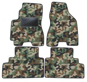 Maskačové textilní koberce pre Hyundai Tucson 2005-2010 4ks