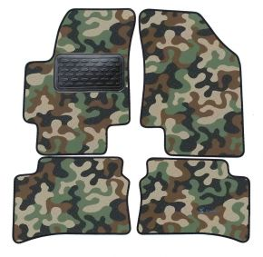 Maskačové textilní koberce pre Hyundai Accent 2006-up 4ks