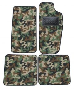 Maskačové textilní koberce pre Jeep Cherokee 1988-2001 4ks