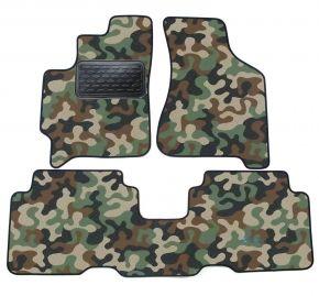 Maskačové textilní koberce pre Kia Carens 2002-2006 4ks