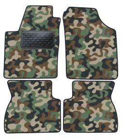 Maskačové textilní koberce pre Kia Picanto I  2007-2011  4ks