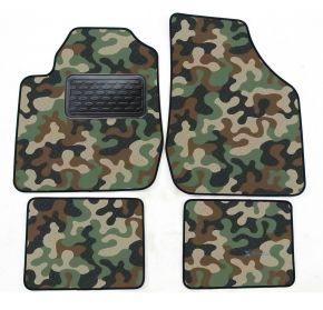 Maskačové textilní koberce pre Kia Rio 2000-2005 4ks