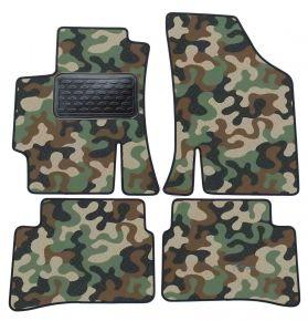 Maskačové textilní koberce pre Kia Rio II 2005-2011  4ks