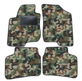 Maskačové textilní koberce pre Kia Cee'd 3D 2007-2013 4ks