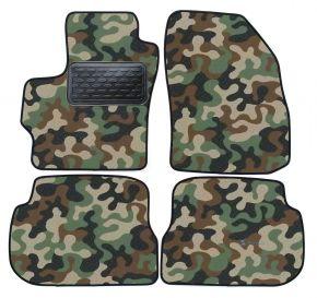 Maskačové textilní koberce pre Mazda 3 2004-2009  4ks