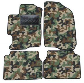 Maskačové textilní koberce pre Mazda 6  2002-2007 4ks