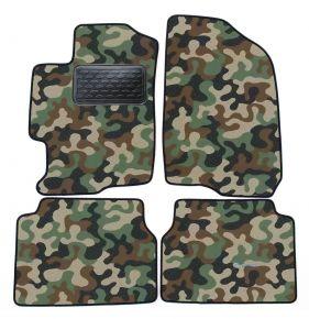 Maskačové textilní koberce pre Mazda 6  2008-2012  4ks