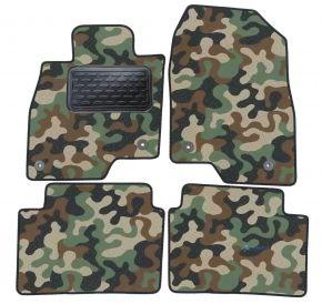 Maskačové textilní koberce pre Mazda 6 2013-up 4 ks