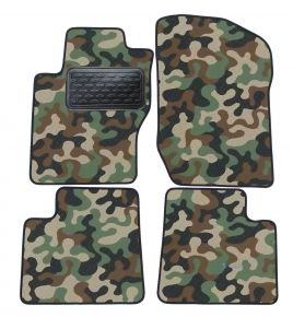 Maskačové textilní koberce pre Mercedes ML W164 2005-2013  4ks