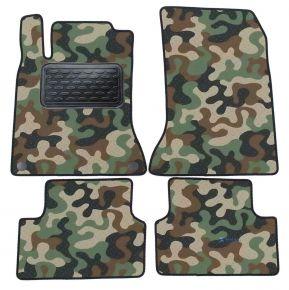 Maskačové textilní koberce pre Mercedes A W176 2013-2018 4ks