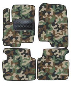 Maskačové textilní koberce pre Mitsubishi Colt 2003-up 4ks