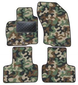 Maskačové textilní koberce pre Mitsubishi Outland 02-10/C-CROSS PEUG 4007 ASX