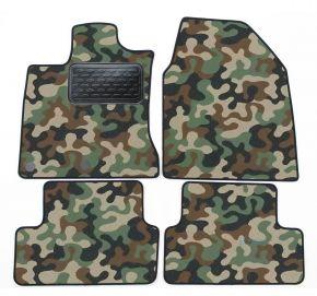Maskačové textilní koberce pre Nissan Qashqai 2007-2013 4ks