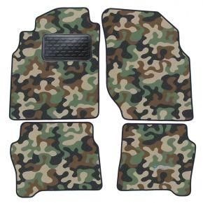 Maskačové textilní koberce pre Nissan Almera  N16  2000-2006 4ks