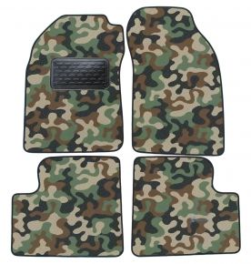 Maskačové textilní koberce pre Nissan Micra K11  1992-2002 4ks