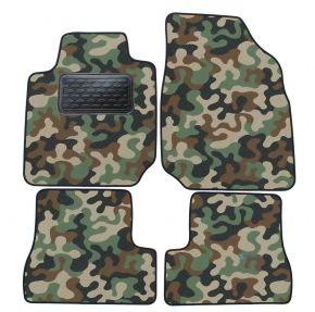 Maskačové textilní koberce pre Nissan Micra K12 2003-2009 4ks