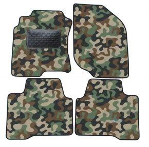 Maskačové textilní koberce pre Nissan X-Trail  T30 2001-2007 4ks