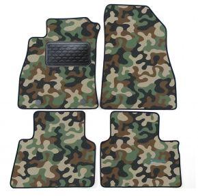 Maskačové textilní koberce pre Nissan Juke 2010-up 4ks