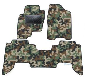 Maskačové textilní koberce pre Nissan Pathfinder  2005-2012 4ks