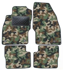 Maskačové textilní koberce pre Opel Corsa D / E 2006-2014 4ks