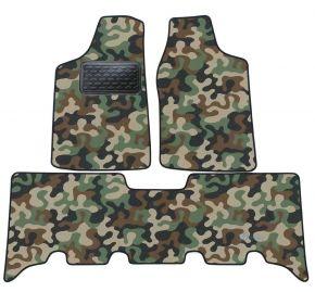 Maskačové textilní koberce pre Opel Frontera 1999-2004 4ks