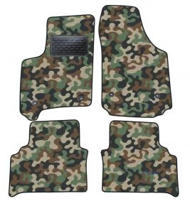 Maskačové textilní koberce pre Opel Meriva A 2003-2011 4ks